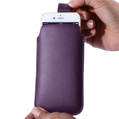 Leather Pouch Case for iPhone 6 Plus - BoardwalkBuy - 2