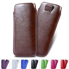 Leather Pouch Case for iPhone 6 Plus - BoardwalkBuy - 1