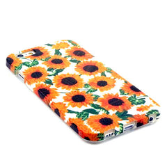 Sun Flower Pattern TPU Case for iPhone 6 - BoardwalkBuy - 3