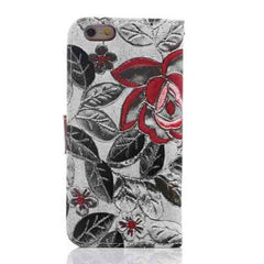 iPhone 6 Wallet Flowers Gyrosigma Case - BoardwalkBuy - 13