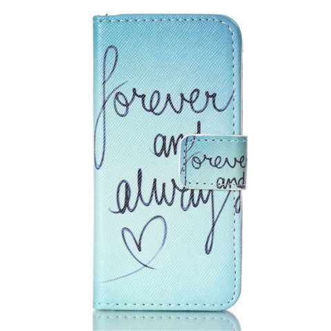 Forever Stand Leather Case For iPhone 5s