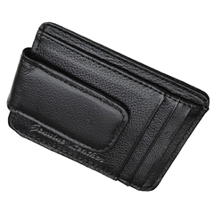 Luxuries Genuine Leather Magnetic Money Clip Wallet - BoardwalkBuy - 5