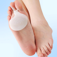2 Pack: Medical Silicone Gel Toe Pads - BoardwalkBuy - 2