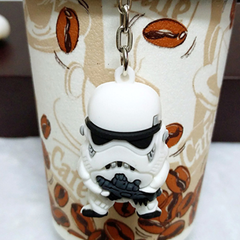 Mini Star Wars Action Figure Keychain - Darth Vader or Stormtrooper - BoardwalkBuy - 5