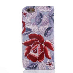 iPhone 6 Wallet Flowers Gyrosigma Case - BoardwalkBuy - 18