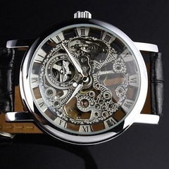 Winner Hand-Winding Skeleton Mechanical Watch - BoardwalkBuy - 3