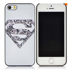 Superman/Batman Cover Phone Case for Apple iPhones - BoardwalkBuy - 2