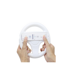 Mario Kart Racing Game Steering Wheel Controller For Nintendo Wii - BoardwalkBuy - 4