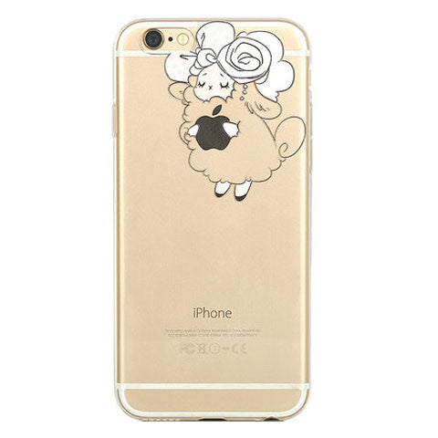 Transparent TPU Soft Case for iPhone 6 4.7""