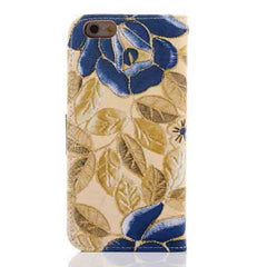 iPhone 6 Wallet Flowers Gyrosigma Case - BoardwalkBuy - 8