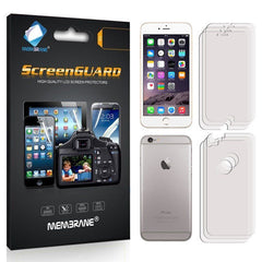 FRONT + BACK Clear LCD Screen Protector Film Foil For Apple iPhone 6 (4.7) - BoardwalkBuy - 3