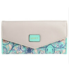 5 Colors Flower Long Wallet - BoardwalkBuy - 10