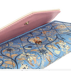 5 Colors Flower Long Wallet - BoardwalkBuy - 7