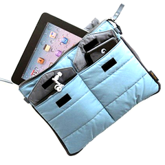 Slim Bag-in-Bag Organizer For Tablets - Assorted Colors - BoardwalkBuy - 3