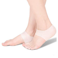 Silicone Gel Heel and Ankle Sleeve for Plantar Fasciitis - BoardwalkBuy - 2
