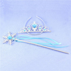 5pcs/set Hair Accessories of Princess Elsa Crown - BoardwalkBuy - 7