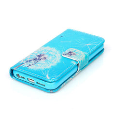 Dandelion Stand Leather Case For iPhone 5s - BoardwalkBuy - 2