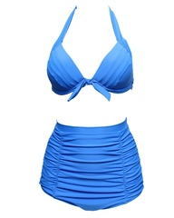 Women High Waisted Bikini Set