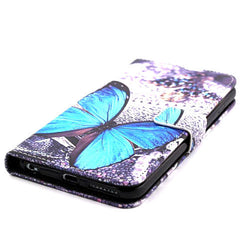Butterfly Leather Wallet Case for iPhone 6 Plus - BoardwalkBuy - 3
