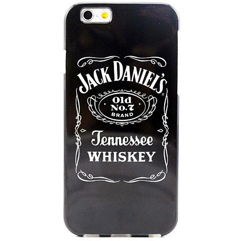 Whiskey Pattern Soft TPU Case for iPhone 6 - BoardwalkBuy - 1