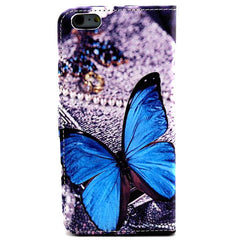 Butterfly Leather Wallet Case for iPhone 6 Plus - BoardwalkBuy - 2