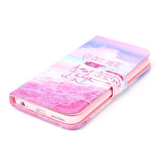 Pink Stand Leather Case For Iphone 6 - BoardwalkBuy - 2