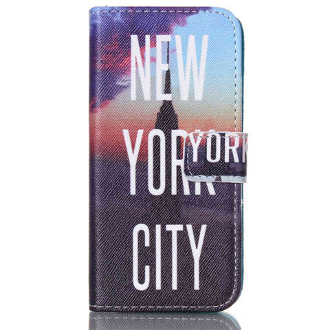 New York Stand Leather Case For Iphone 6 - BoardwalkBuy - 1