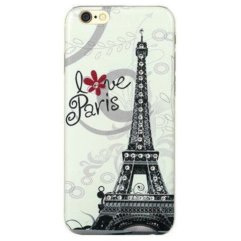 Eiffel Tower Bling Case for iPhone 6 - BoardwalkBuy