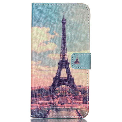 Paris Stand Leather Case For Iphone 6 plus - BoardwalkBuy - 1