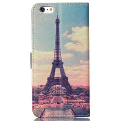Paris Stand Leather Case For Iphone 6 plus - BoardwalkBuy - 4