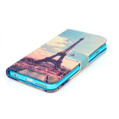 Paris Stand Leather Case For iPhone 5s - BoardwalkBuy - 3