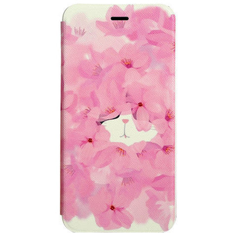 Stand Flower Leather Case for iPhone 6 Plus - BoardwalkBuy