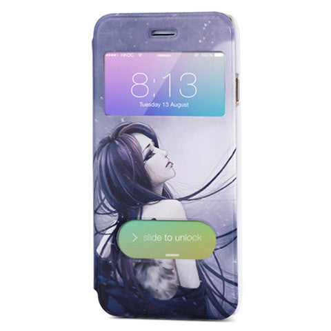 Painted Leather Case for iPhone 6 Plus - BoardwalkBuy