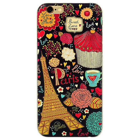 Cute Eiffel Tower Hard Case for iPhone 6 Plus - BoardwalkBuy
