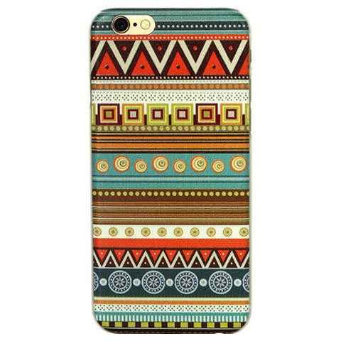 Tribe Pattern Hard Case for iPhone 6 Plus - BoardwalkBuy