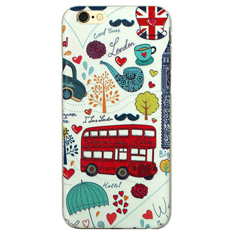 Embossed Cartoon Case for iPhone 6 Plus - BoardwalkBuy