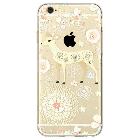 Transparent TPU Cartoon Case for iPhone 6 - BoardwalkBuy