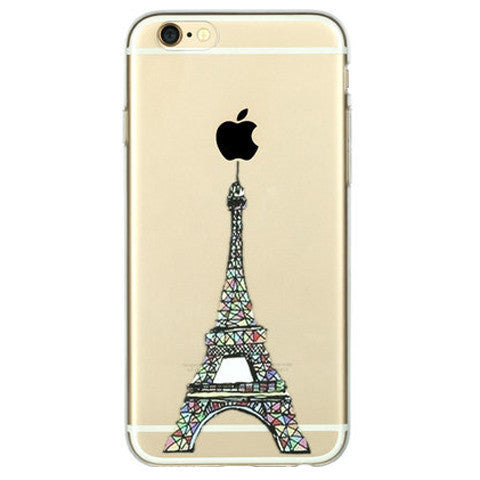Eiffel Tower Clear Case For Iphone 6