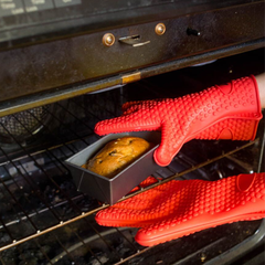 A Pair of Heat Resistant Silicone Gloves - BoardwalkBuy - 6