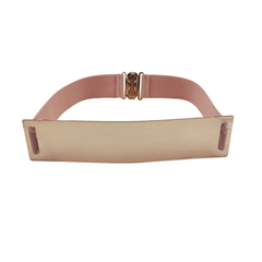 Metallic Wide Mirror Elastic Waist Belt - Assorted Colors - BoardwalkBuy - 3