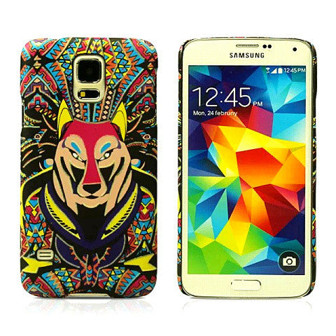 Cartoon Dog Hard Case for Samsung S5