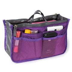 Slim Bag-in-Bag Purse Organizer - Assorted Color - BoardwalkBuy - 10