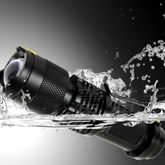 2000LM Waterproof Adjustable Focus Tactical LED Flashlight - BoardwalkBuy - 2