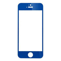 iPhone 5 Premium Shock Proof Tempered Glass Screen Protector Cover blue - BoardwalkBuy - 2