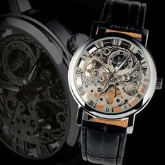 Winner Hand-Winding Skeleton Mechanical Watch - BoardwalkBuy - 4
