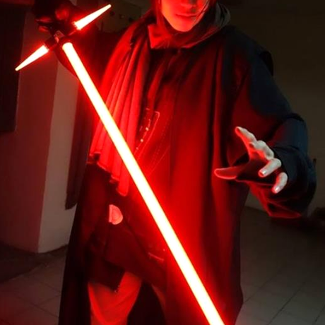 Star Wars Red Lightsaber Sword