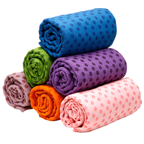 Microfiber Yoga Towel Mat - Assorted Colors
