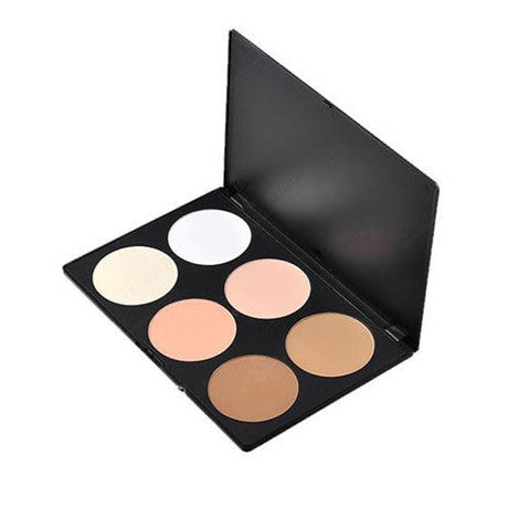 6 Color Blush/Highlighter/Bronzer Palette - BoardwalkBuy