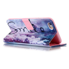 Purple Smile Stand Leather Case For Iphone 6 plus - BoardwalkBuy - 3