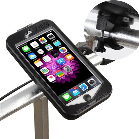 Shock-proof Bicycle Handlebar Mount for iPhone 6 - BoardwalkBuy - 1